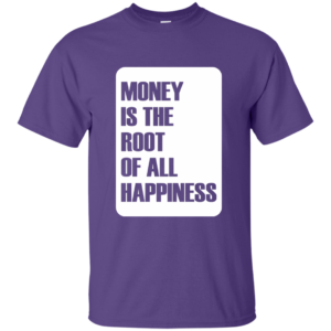 Money Root Happiness – Womens Custom Graphic T-Shirt
