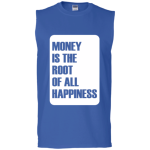Money Root Happiness – Guys Sleeveless Crossfit Muscle Tops