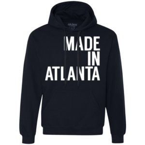 Made In Atlanta – Men's Comfortable Pullover Hoodies