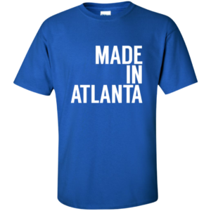 Made In Atlanta – Guys Tall Fashionable Graphic Tees