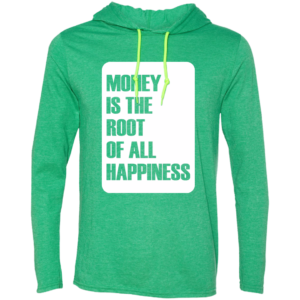 Money Root Happiness – Mens New Hip Hop Fashion Long Sleeve T Shirt Hoodies