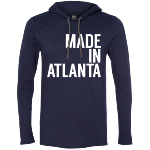 Made In Atlanta – Guys Graphic Long Sleeve Teeshirt Hoodies