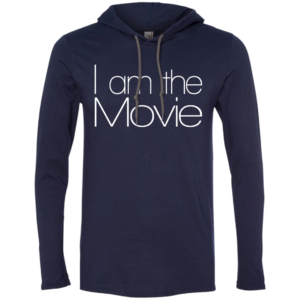 I Am The Movie – Hip Hop Clothing Mens Hooded T Shirt