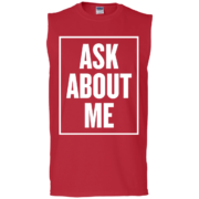 Ask About Me – Graphic Muscle Tees Fashion for Males