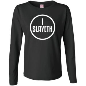 I Slayeth – Long Sleeve Athletic Shirts for Women Buy Online