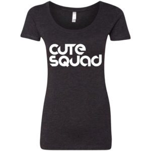 Cute Squad – Ladies Scoop Neck Tee