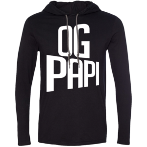 Og Papi – Long Sleeve Hooded T-Shirt Mens Latin Fashion