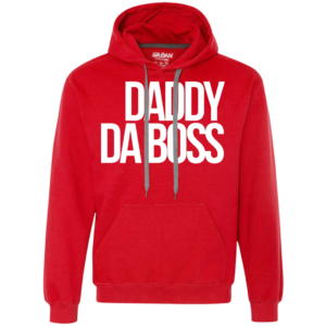 Daddy Da Boss – Frugal Male Fashion Hooded Sweatshirt