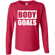 Body Goals – Female Fashion Long Sleeve Tee Buy Online