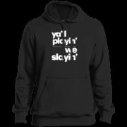 Yall Playin We Slayin – Guys Tall Gents Fashion Wear Pullover Hoodie