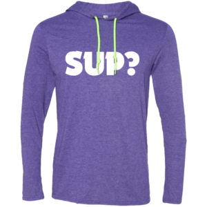 Sup? – Mens New Hip Hop Fashion Long Sleeve Tshirt Hoodies
