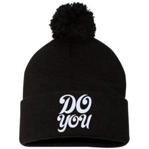 Do You – Embroidered Guys Pom Beanie By Coolteez.net for Winter Wear