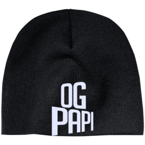 Og Papi – Embroidered Mens Beanie Hat Classy Club Wear