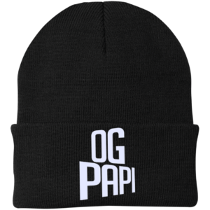 Og Papi – Embroidered Guys Personalized Skull Caps