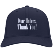 Dear Haters, Thank You – Guys Custom Embroidered Baseball Caps